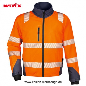 Watex Forest Jack Stretch Forstjacke Warn-Jacke