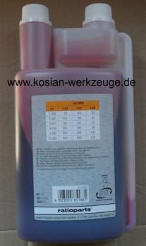 kosian werkzeuge ratioparts zweitakt l misch l 1 liter dosierflasche motors gen l 2 mix l. Black Bedroom Furniture Sets. Home Design Ideas