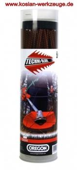 Oregon Techni-Blade Mähfaden Freischneidefaden  7mm x 26cm 155 Stück