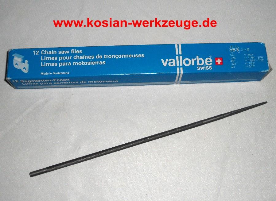 Schärfen Rundfeile 4,5 mm für Sägeketten Kettenfeile