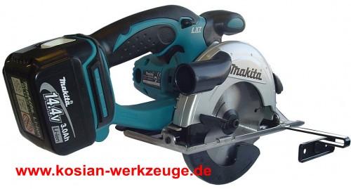 Kosian Werkzeuge Makita Akku Handkreissage Bss500rfe 14 4v