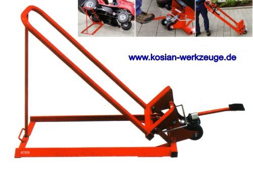 kosian werkzeuge oregon cliplift reinigungshilfe hydraulischer heber f r rasentraktor clip. Black Bedroom Furniture Sets. Home Design Ideas