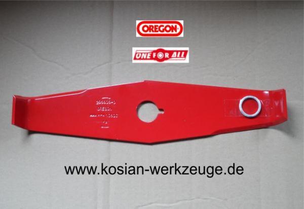 3 Zähne OREGON Freischneidmesser Messer Freischneider 350 x 4 mm x 25,4 mm