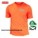 Oregon Cooldry atmungsaktives T- Shirt, orange